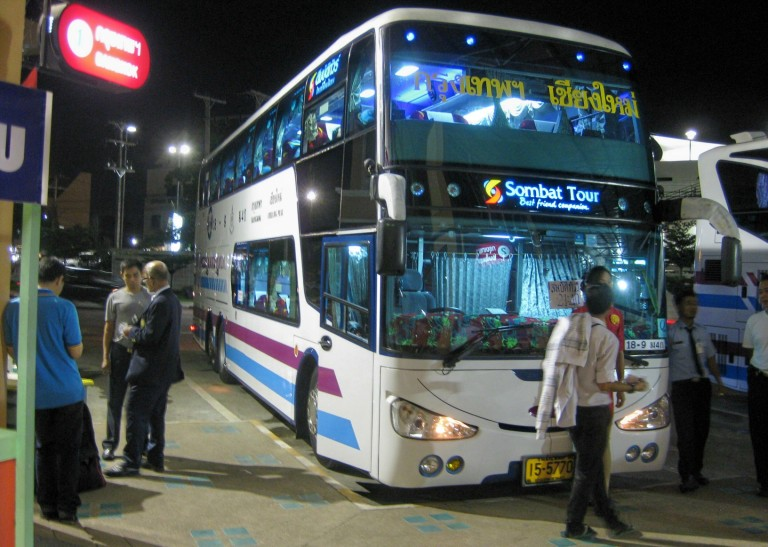 Overnight buses to Chiang Mai are a common option