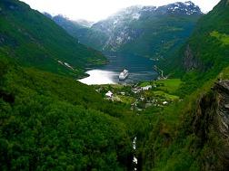 Norway's beautiful Geirangerfjord
