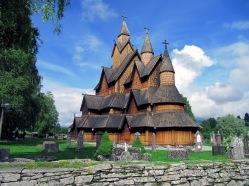 Heddal Stave Church near Oslo