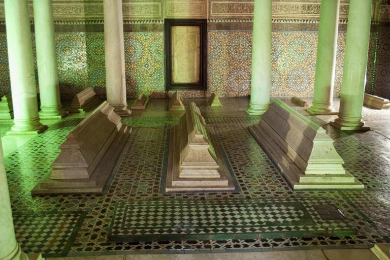 The tombs of the Saadian rulers of old