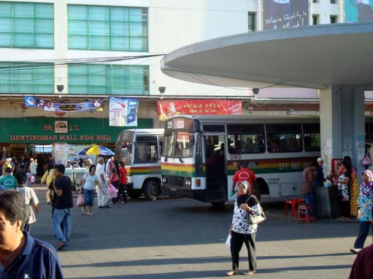 Arrival in Sandakan
