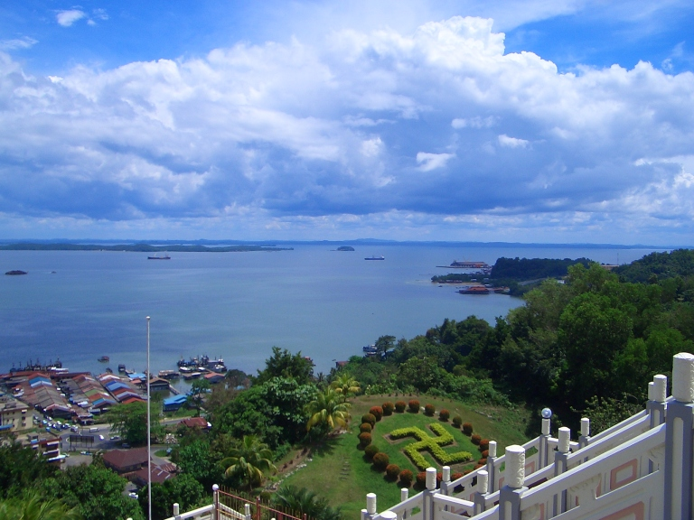 Sandakan is situated on the east coast of Borneo (Sabah)