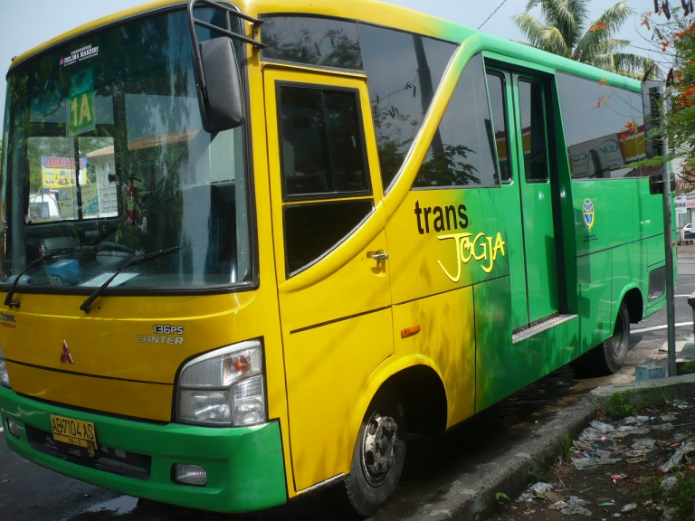 Trans Jogja is a fast and efficient bus network