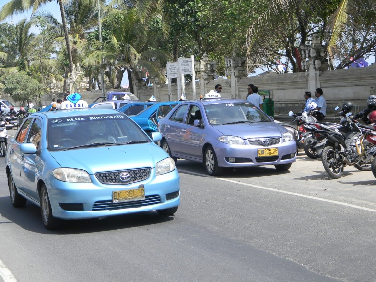 Bluebird Taxis are safe and reliable