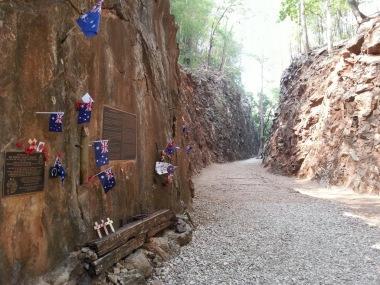 The sombre Hellfire Pass