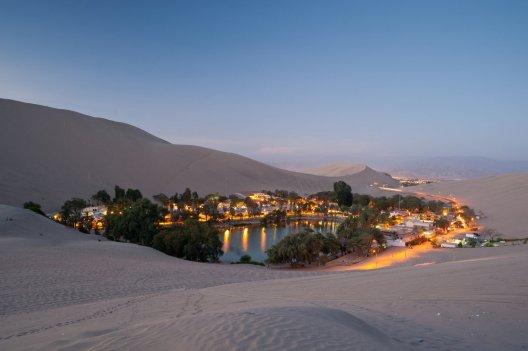 A Desert Oasis in western Peru