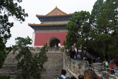 Entrance to the Ming Tombs