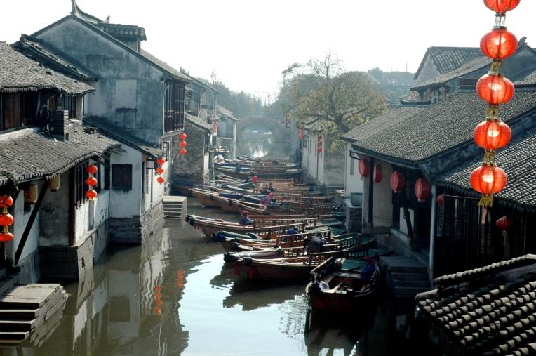 Suzhou Water Town near Shanghai