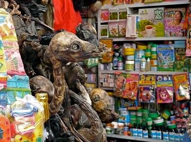 Witch Market, La Paz