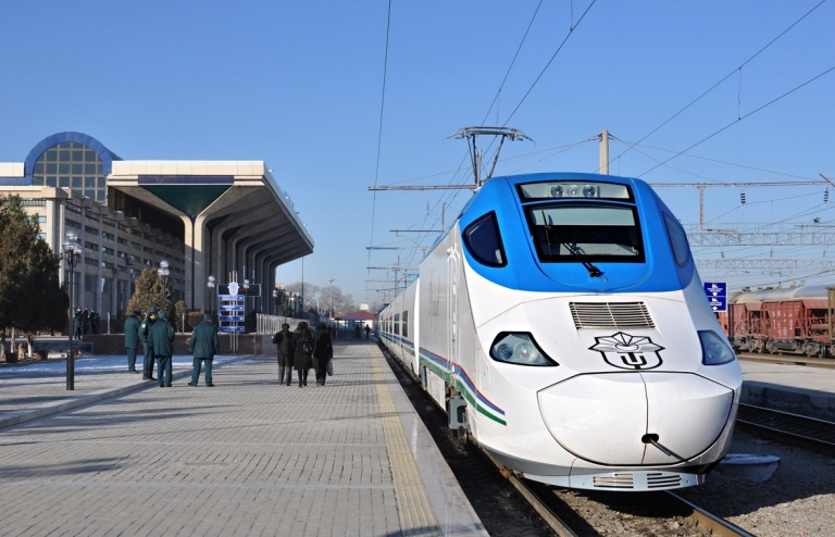 The High Sped trains from Tashkent to Samarkand are amazing!