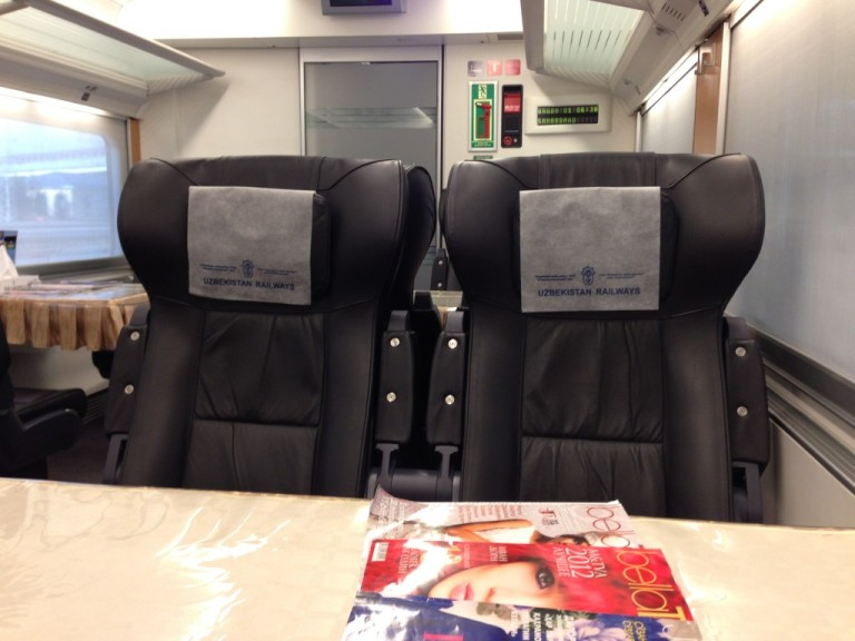 An example of the luxury that awaits in the VIP Class cabin.