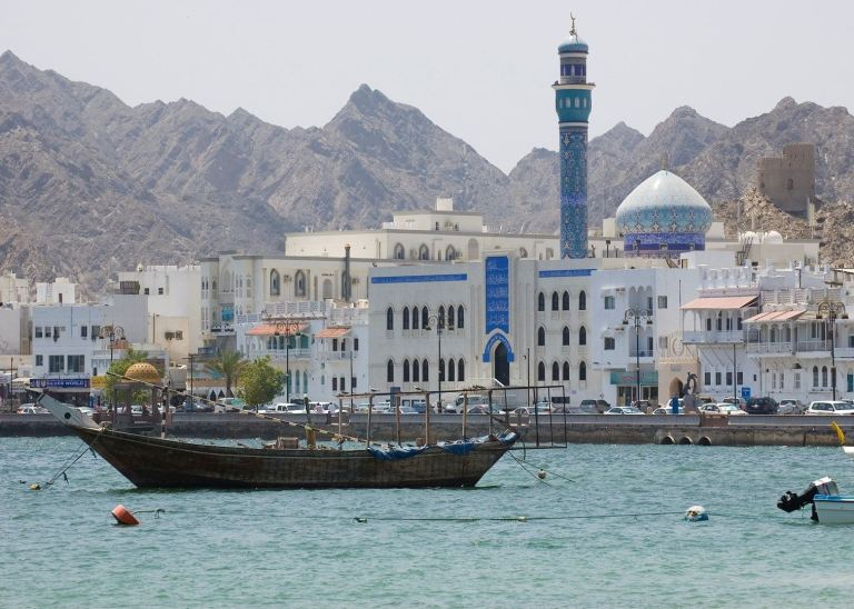 You'll find Muscat to be a charming city beside the sea