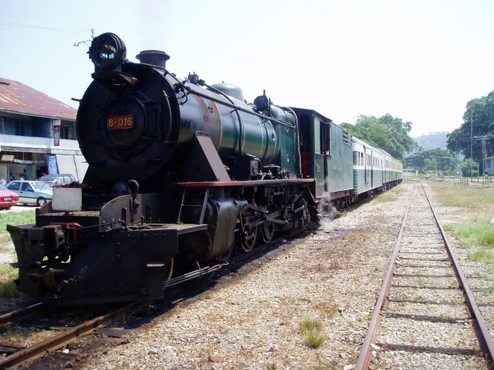 Steam Trains in Borneo?