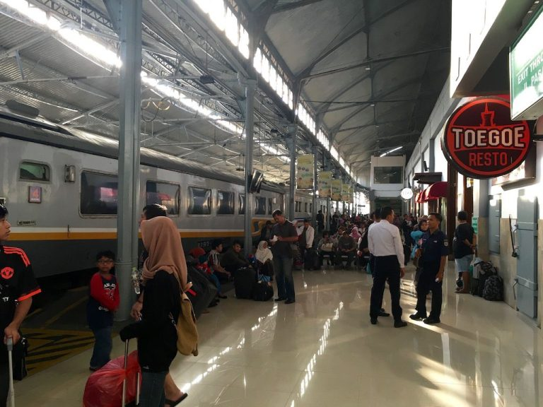It may look congested, but riding on Indonesian trains is an enjoyable affair!