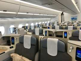 A350 Business Class on Air Mauritius