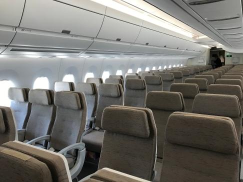 Economy class on OZ's A350
