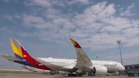 Asiana proudly flying the A350