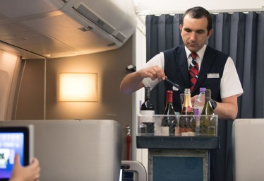 BA's cabin crew do not always smile