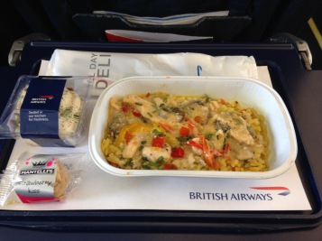 BA food from the cheap seats