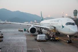 CX A350 @ HKG