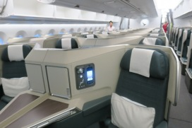 Business Class on Cathay's A350