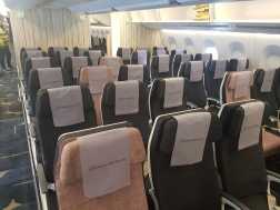 A homely feel in CA's A350 economy class