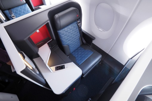 The business class 'suite' on DL's A350 product