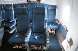 Economy class on Delta's A350