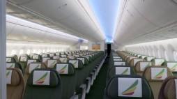 Ethiopian A350 economy class