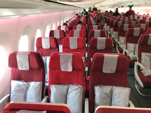 Hong Kong Airlines A350 Economy