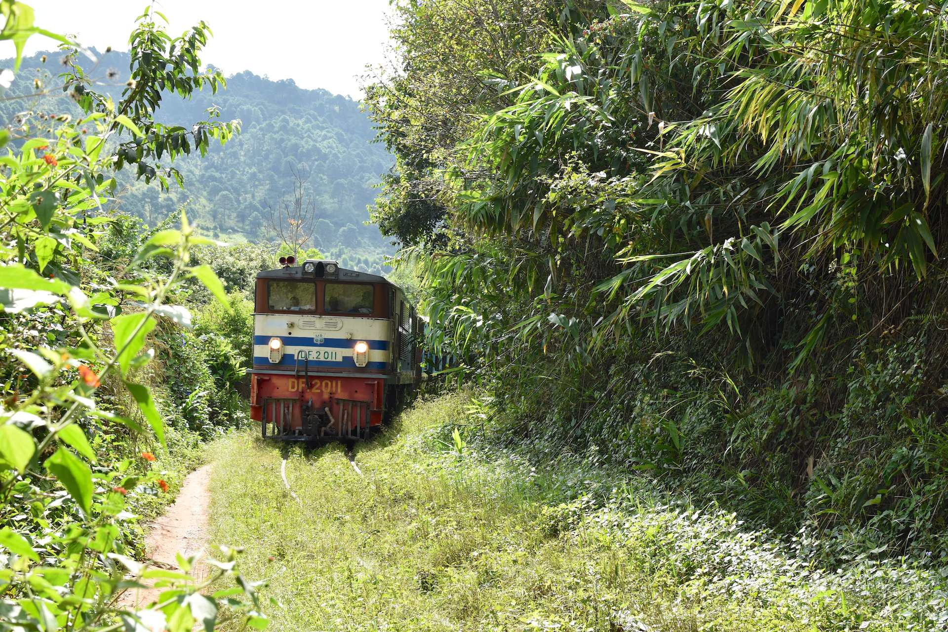 The slow train to Inle Lake