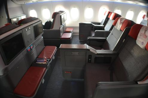 LATAM's Business Class on its A350