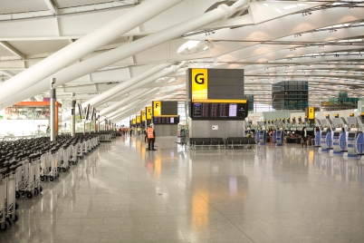 The newer Terminal 5 is where BA fly from