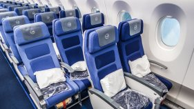 Lufthansa A350 economy