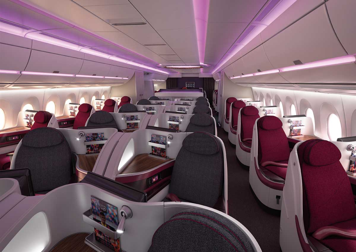 Examining the Economy and Business class cabins on every ...