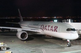 The A350 looks nice in QR livery