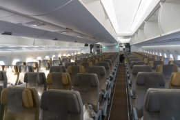 SQ Economy onboard the A350