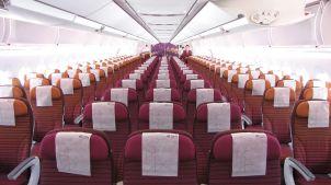 Thai Airways A350 economy class cabin