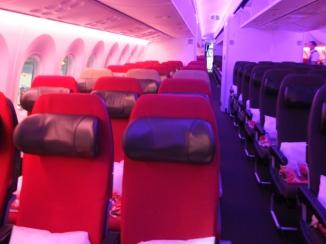 Virgin Atlantic economy class