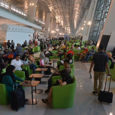 Crowded Soekarno-Hatta